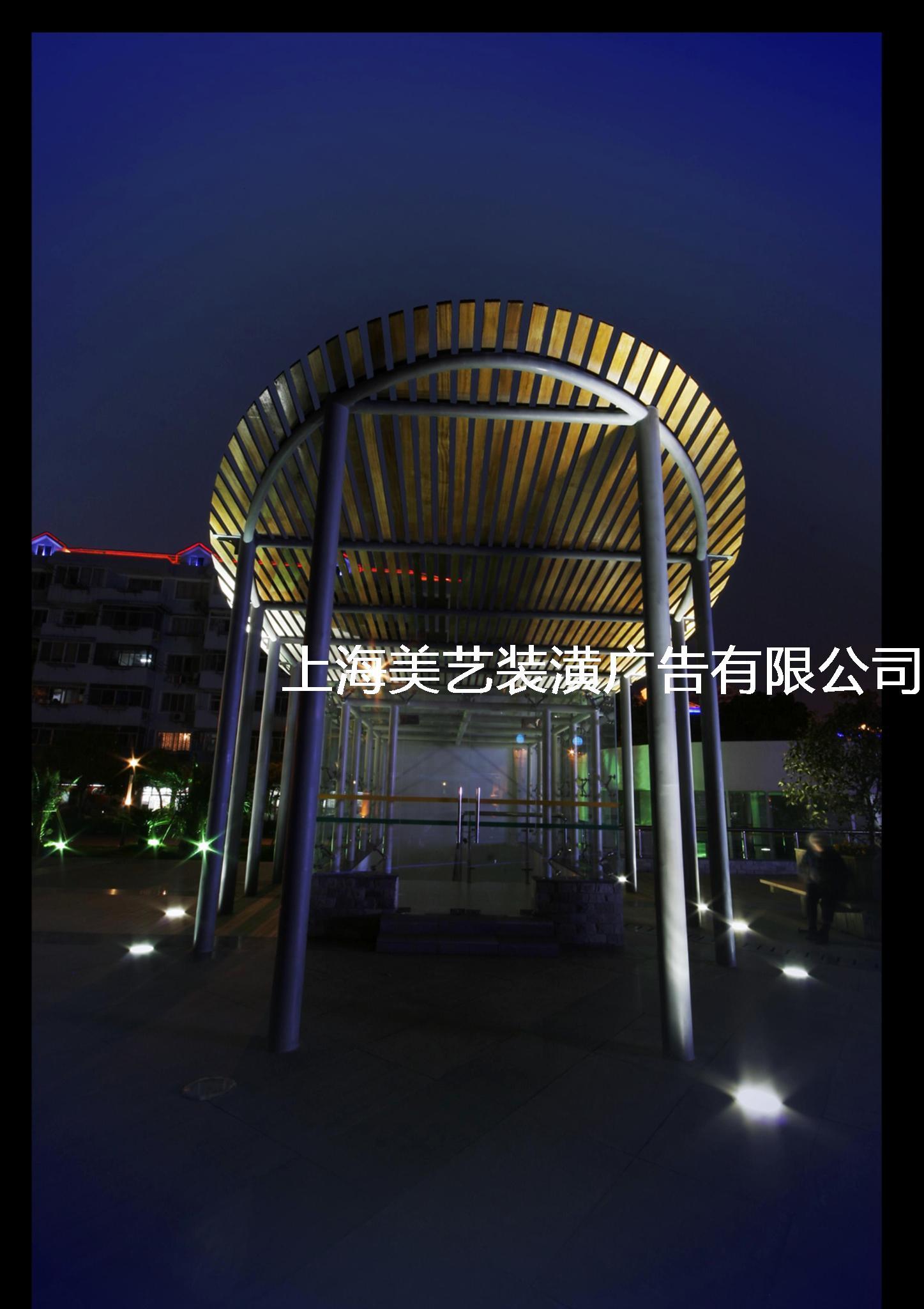 景观灯光设计图片